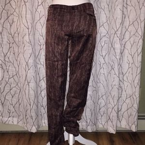Citizens of Humanity silk pants Burgundy